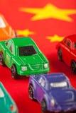 3 автомобиля ввоза китайца дешево Стоковая Фотография RF