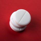 3 белых таблетки Стоковые Изображения RF