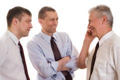 3 бизнесмена совместно Стоковое Изображение