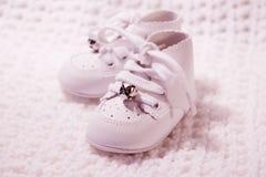 3 ботинка пар младенца Стоковое Фото