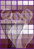 3 вазы Стоковая Фотография