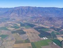 3 воздушных серии ландшафта земледелия Стоковое Изображение