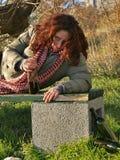 3 выпитая женщина Стоковое Фото
