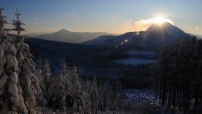 3 горы отсутствие бурного Стоковые Изображения