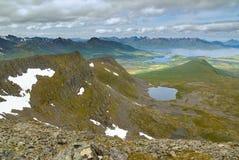 3 горы Стоковые Изображения