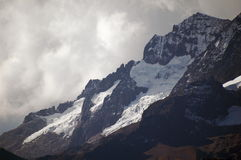 3 горы andes Стоковое Фото