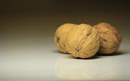 3 грецкого ореха Стоковые Изображения RF