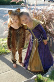 3 девушки costume Стоковые Изображения RF