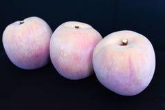 3 декоративных пластичных персика Стоковое Изображение RF