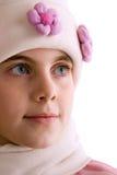 3 детеныша портрета девушки Стоковая Фотография