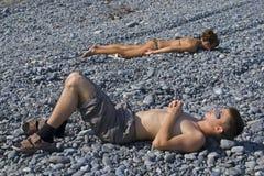 3 дет sunburning Стоковое фото RF