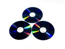 3 диска Стоковые Изображения