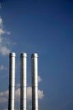 3 дымовой трубы Стоковые Фотографии RF