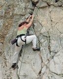 3 женщины альпиниста Стоковая Фотография RF