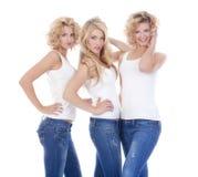 3 женщины молодой Стоковая Фотография
