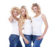 3 женщины молодой Стоковые Изображения