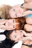 3 женщины Стоковые Изображения