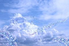 3 замока воздуха стоковое изображение