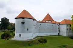 3 замок Хорватия Стоковая Фотография