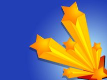 3 звезды Стоковая Фотография RF