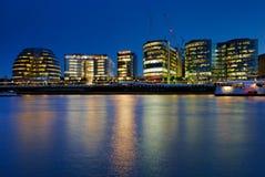 3 здание муниципалитет london Стоковые Фотографии RF