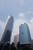 3 здания корпоративного Стоковые Изображения