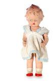 3 злоупотребляли куклой ребенка старой Стоковые Изображения