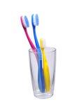 3 зубной щетки Стоковые Фотографии RF