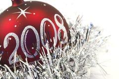 3 игрушки рождества Стоковая Фотография
