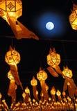3 китайских фонарика Стоковые Изображения RF