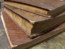 3 книги Стоковая Фотография RF