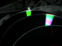 3 компактного диска Стоковые Изображения