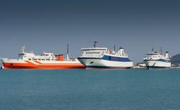 3 корабля Стоковая Фотография RF