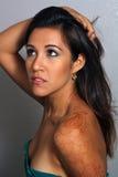 3 красивейшее headshot latina Стоковое Изображение RF
