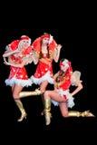 3 красивейших женщины в платьях Стоковая Фотография