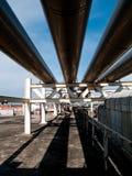 3 линия нержавеющая сталь трубы Стоковая Фотография