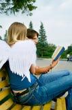 3 люд ангела молодого Стоковые Фотографии RF
