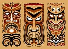 3 маски иллюстрация вектора