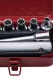 3 металлических инструмента комплекта Стоковая Фотография