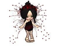 3 милых fairy Валентайн toon Стоковые Фото