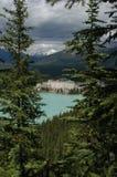 3 озеро louise стоковые фото