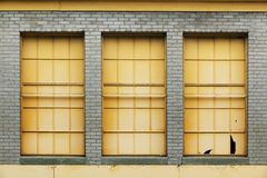 3 окна Стоковое Изображение RF