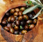 3 оливки Стоковое фото RF