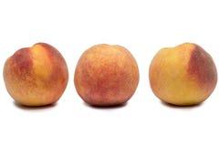 3 персика Стоковое Изображение RF