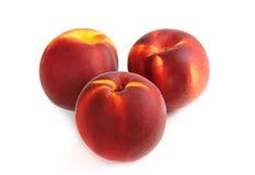 3 персика Стоковая Фотография RF
