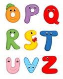 3 письма алфавита Стоковые Изображения