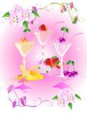 3 питья Стоковые Изображения