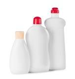 3 пластичных бутылки Стоковые Фотографии RF