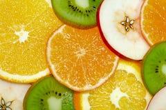 3 плодоовощ предпосылки Стоковые Изображения
