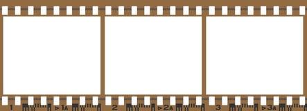 3 плоских изображения реального Стоковые Фото